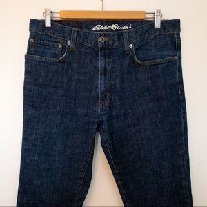 Eddie Bauer Men Size 34x30 Jeans Slim Fit Stretch